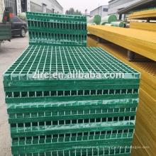 Литые стеклопластиковые решетки в Африке / стеклопластик/стеклопластик стеклоткани Скрежеща шаги