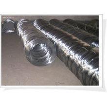 Alambre de hierro electro galvanizado del precio bajo (fabricación)