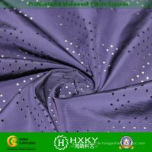 Nur gefärbt perforierten Polyester-Gewebe für Jacke oder Futter