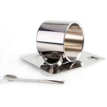 Tasse de bière Set tasse de café vide haute qualité en acier inoxydable