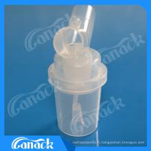 Accessoires de piège à eau jetables pour circuit de respiration d'anesthésie