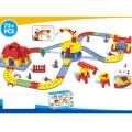 Kinder Lustige batteriebetriebene Gleisbahn Set Spielzeug (h1436092)