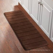 tapete de área longa tecida para cozinha