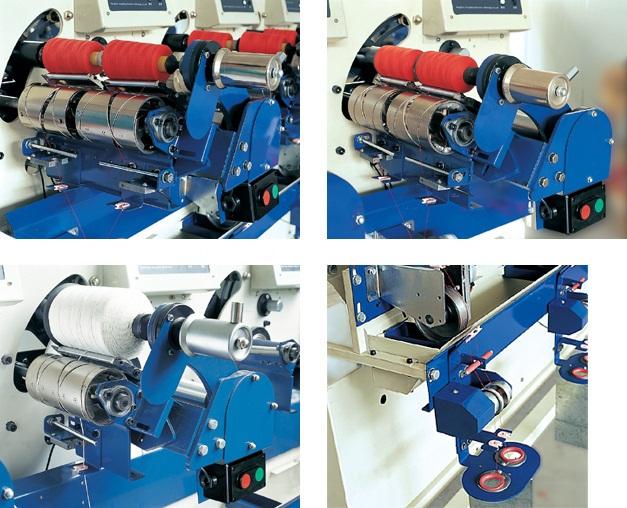 high speed thread winding machine