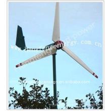 Horizontal 300W, 600W, 1000W, 2000W 20kw prix de turbine éolienne