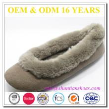 Zapatillas cómodas de invierno para relajar en interiores para mujeres