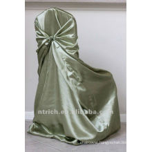 self-tie back chair cover,CT342 satin chair cover,universal chair cover