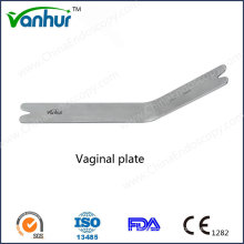 Transvaginal Retraction Instruments Vaginal Plate