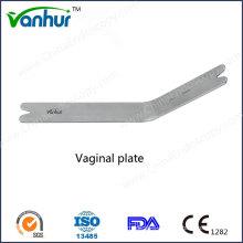 Transvaginal Retraction Instruments Vaginal Plate