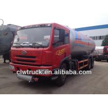 Venda quente !! Caminhão do lpg de FAW 6x4, caminhão do petroleiro de 25m3 lpg