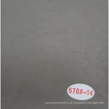 Cinza cor couro de couro de óleo de couro decorativo de cera para sofá
