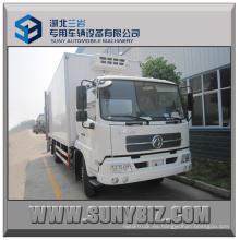 8t 10t 170HP 4X2 Camión refrigerado Dongfeng