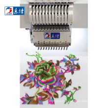 24 heads high speed same as brother computerized flat embroidery machine with price
