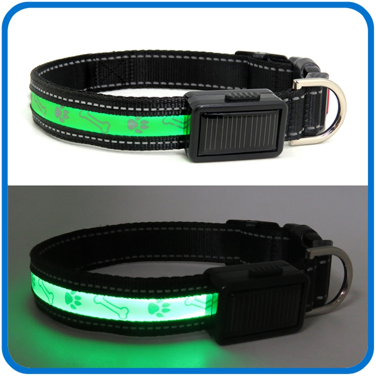 Có thể sạc lại Light Up Flashing Dog Collar Glow In The Dark
