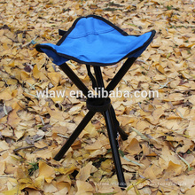Fabric Material and Fishing Chair Style 3 Legged Stool