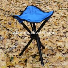 Material de tecido e cadeira de pesca estilo 3 fezes pernas