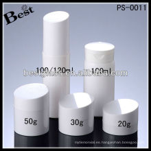 Botella de plástico de 100 ml, botella de loción PS