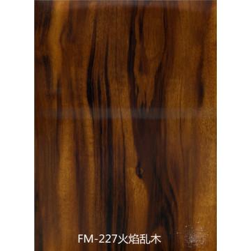 No asbestos fiber cement silicate board wood color