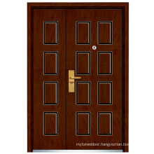 Mother and Son Steel Wooden Door (FXGM-C305B)