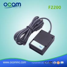 2d QR code máquina de módulo de lector de escáner de código de barras de montaje fijo