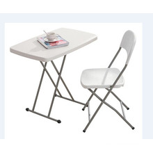 China Manufacturer Adjustable Height Mini Cheap Plastic Folding Desk Table for Kids Study/Writing/Dining/Computer