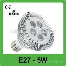 Высокое качество Высокий e27 без подсветки br40 привело пятно света