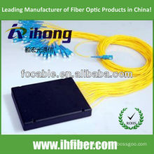 1*n fiber optical plc splitter