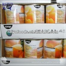 Dosen Früchte - Aprikosenhälften in ls