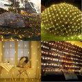 Décorations De Jardin Led Net Mesh Fairy String Lights