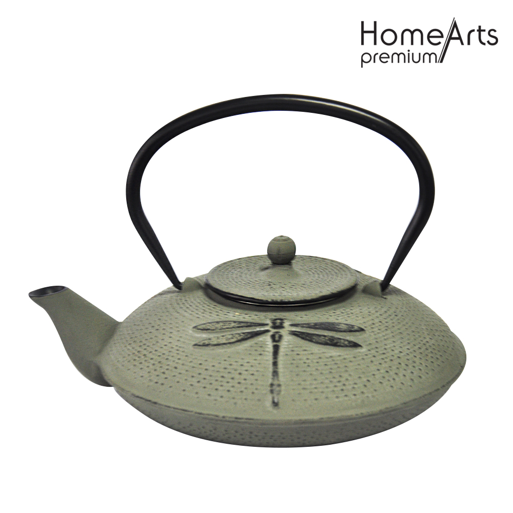 Enamel Coating Antique Cast Iron Teapot