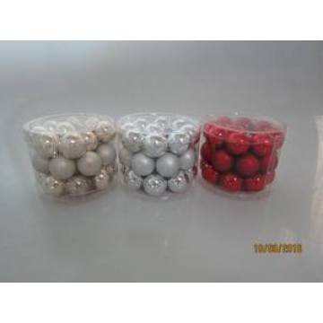 Set 27 Glass Ball for Christmas Decoration