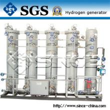 Planta de producción y purificación de hidrógeno de calidad anti-explosión