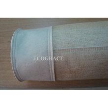 Filtro de aire de alta eficiencia PPS Bolsa de filtro de tela
