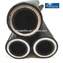 oil resistant synthetic hydraulic hose fitting rubber hydraulic hose
