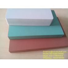 Panneau de mousse de meubles exportés de haute qualité pvc wpc