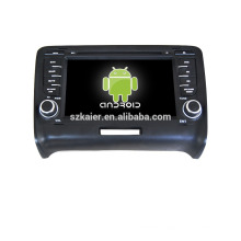 Quad core!car dvd with mirror link/DVR/TPMS/OBD2 for 7inch touch screen quad core 4.4 Android system TT