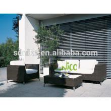 2014 neue pe Rattan billig Outdoor Korbmöbel Rattan Sofa Garten Sofa Möbel zum Verkauf