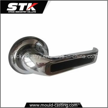 Poignée de porte en alliage de zinc par moulage sous pression (STK-14-Z0012)