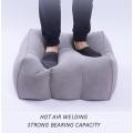 oreiller de coussin de repose-pieds gonflable de taille personnalisée