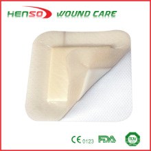 HENSO Gentle Absorbent Silicone Bordered Foam Dressing