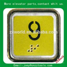 B13P4 peças do elevador botão / schindler elevador botões / elevador botão interruptor