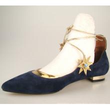 женский женщины искусственная кожа плоские туфли