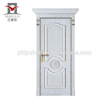 popular simple design interior solid wooden doors