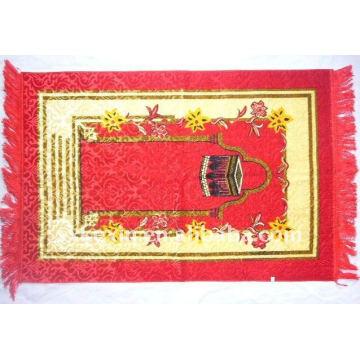 Islamic Prayer Mat Thin Namaz Sajjadah Muslim Janamaz