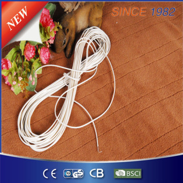 Dual Helix with Temperature Sense Heating Wire for Electric Blanket