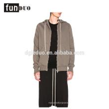 chaqueta con capucha del deporte de la moda de la chaqueta de los hombres de las sudaderas con capucha de algodón