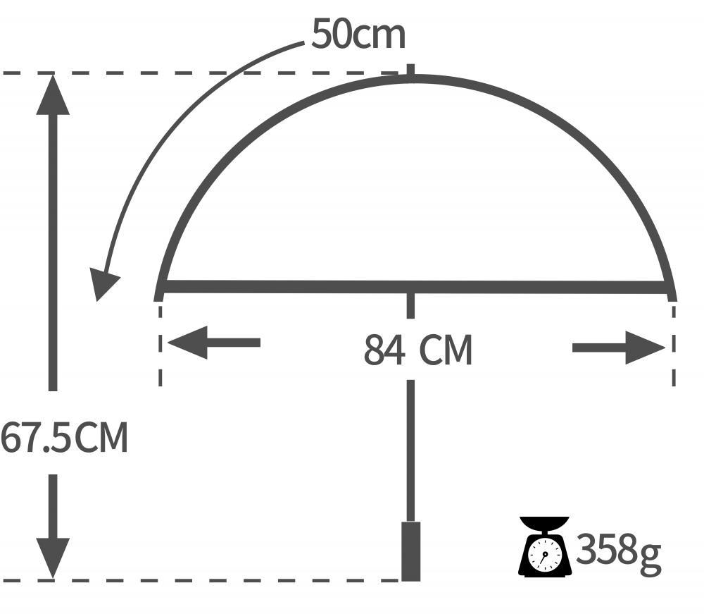 Spec 50cm Auto Open Kids Umbrella