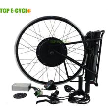 48V 500Watt 20 '' - 28 '' 700C precio al por mayor precio sin escobillas motor eléctrico moto kit de conversión para bicicletas