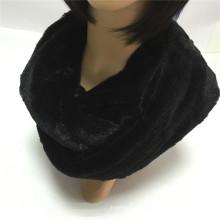 Черный Мода Молодые Шея PV Руна трубчатый шарф завод