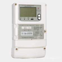 Three-Phase Revenue-Controlled Intelligent Energy Meter